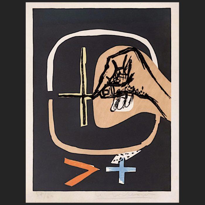Le Corbusier | Poème de l'angle droit No. 19 | art-LC