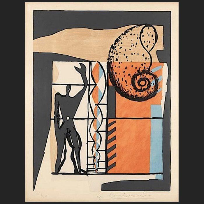 Le Corbusier | Poème de l'angle droit No. 6 | art-LC