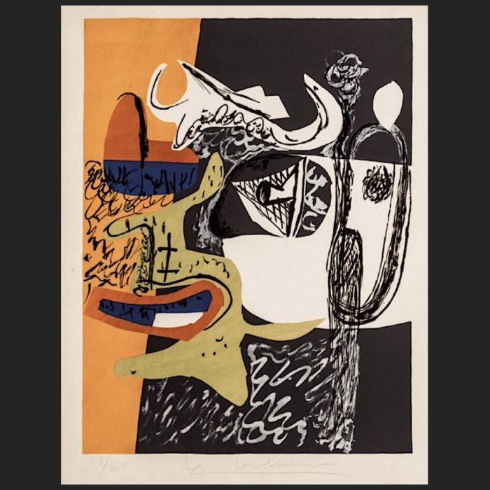 Le Corbusier | Poème de l'angle droit No. 9 | art-LC