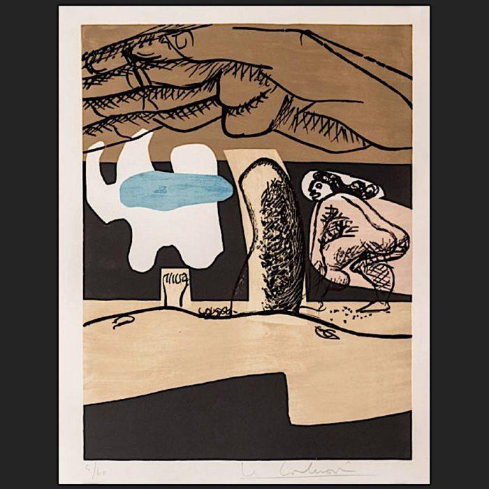 Le Corbusier | Poème de l'angle droit No. 10 | art-LC