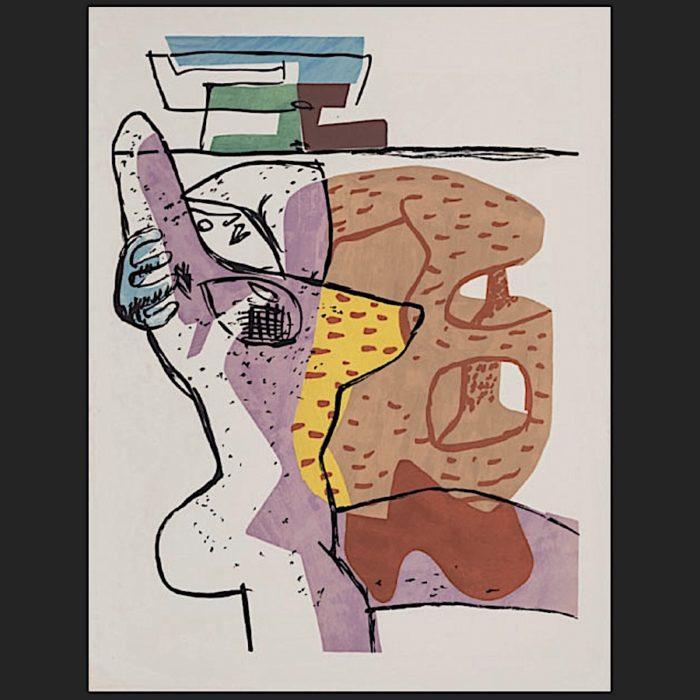Le Corbusier | Poème de l'angle droit No. 11 unsigned | art-LC