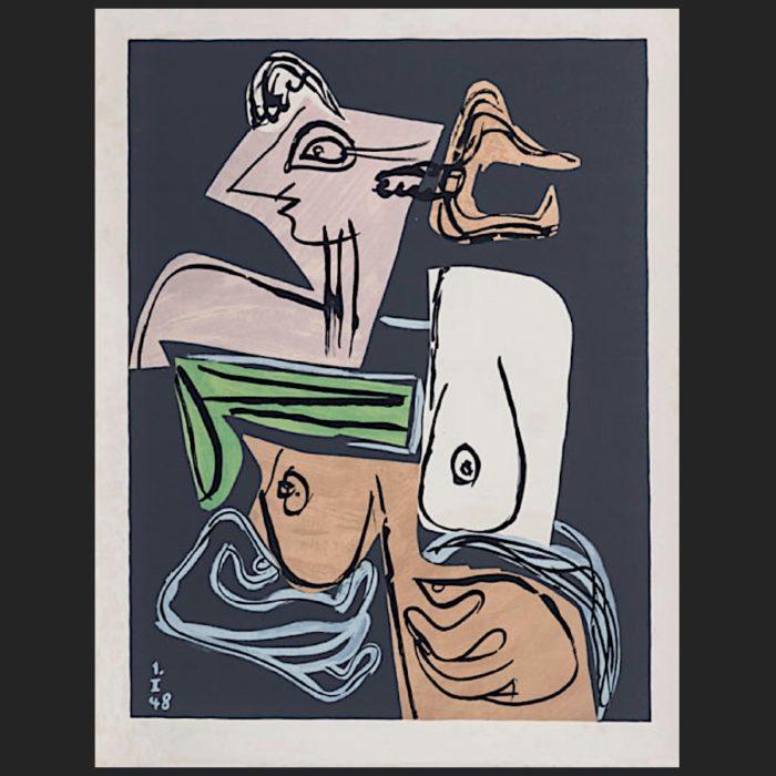 Le Corbusier | Poème de l'angle droit No. 12 unsigned | art-LC