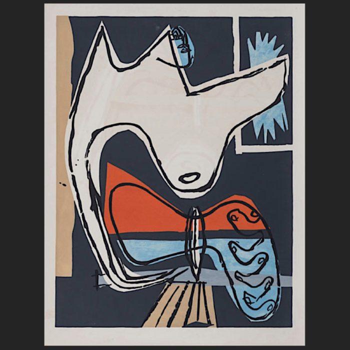Le Corbusier | Poème de l'angle droit No. 16 unsigned | art-LC