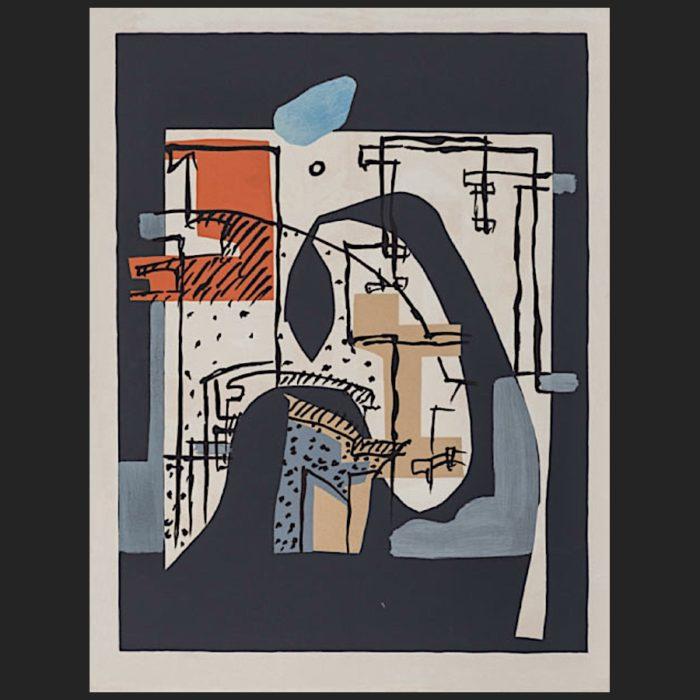 Le Corbusier | Poème de l'angle droit No. 17 unsigned | art-LC