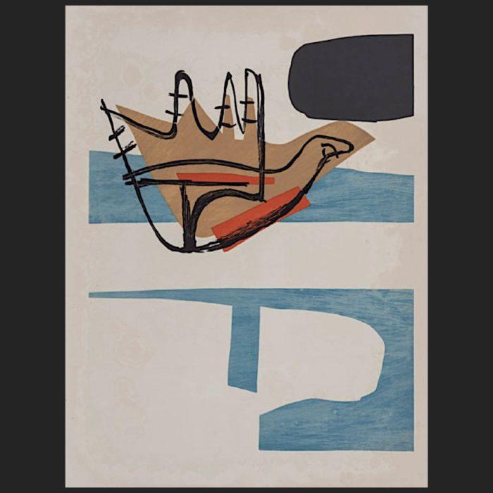 Le Corbusier | Poème de l'angle droit No. 18 unsigned | art-LC