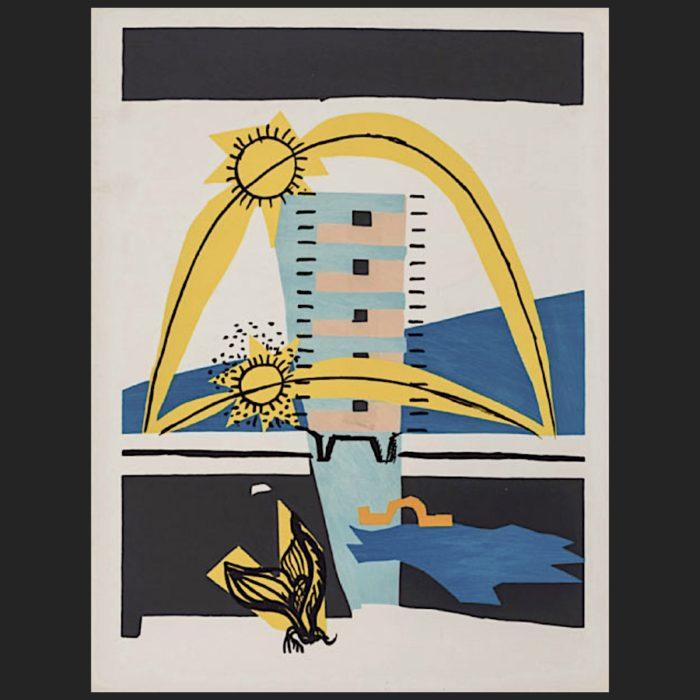 Le Corbusier | Poème de l'angle droit No. 8 unsigned | art-LC