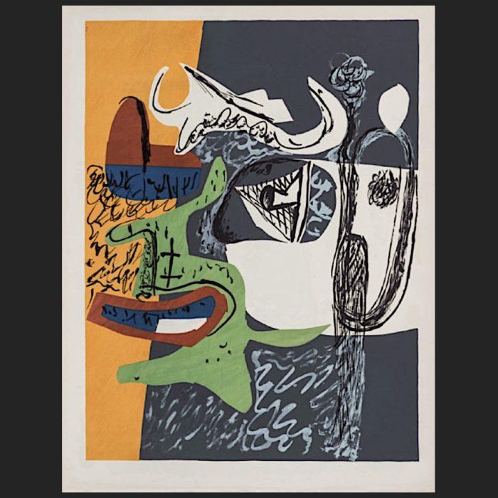 Le Corbusier | Poème de l'angle droit No. 9 unsigned | art-LC