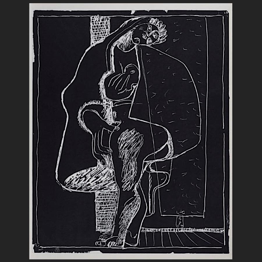 blatt nr 5 des portfolios petite confidences lithographie 1960 le corbusier der k nstler. Black Bedroom Furniture Sets. Home Design Ideas