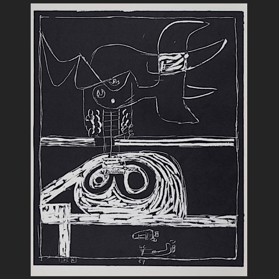 blatt nr 6 des portfolios petite confidences lithographie 1960 le corbusier der k nstler. Black Bedroom Furniture Sets. Home Design Ideas