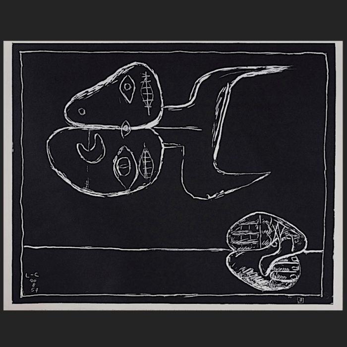Le Corbusier | Portfolio Petite Confidences sheet no. 9 | art-LC