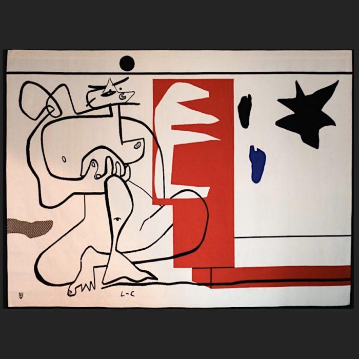 Le Corbusier | Tapestry Bonjour Calder | art-LC
