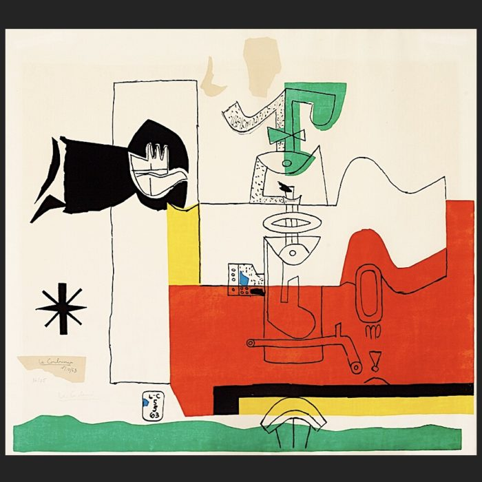 Le Corbusier | Totem hand-signed | art-LC